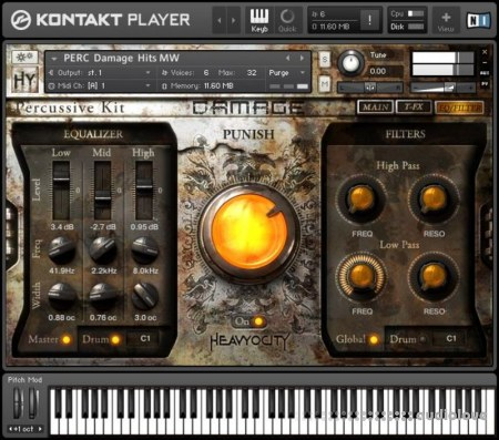 Heavyocity Damage v1.5 KONTAKT