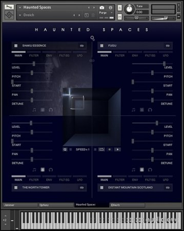 Soniccouture Haunted Spaces v1.1 KONTAKT