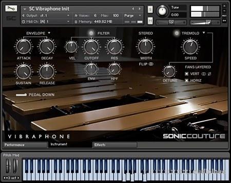 Soniccouture Vibraphone KONTAKT