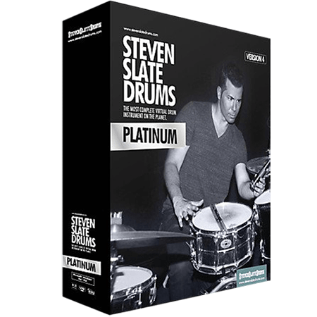 Steven Slate Drums SSD4 Sampler v1.1 Incl Library Platinum and License WiN MacOSX