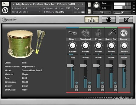 BFD3 Library for Kontakt Kits 1-7 + Percussion Pieces KONTAKT