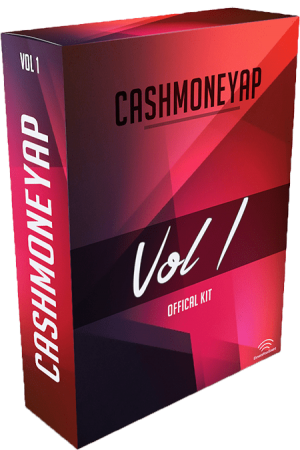 CashMoneyAP Official Drum Kit Vol.1 WAV Soundfont Synth Presets