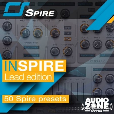 Audiozone Samples InSpire Lead Edition Synth Presets