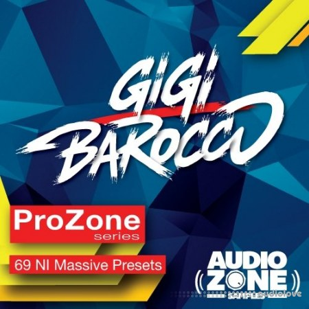 Audiozone Samples ProZone Series ft GIGI BAROCCO Synth Presets