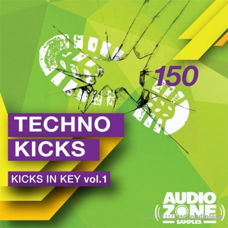 Audiozone Samples Techno Kicks In Key Vol.1 WAV