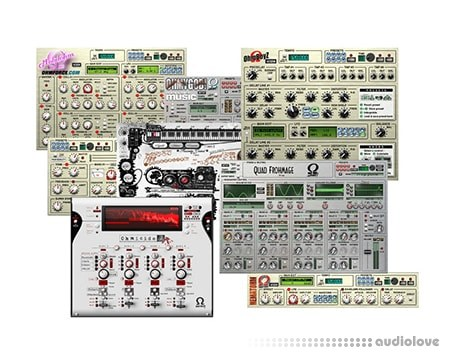 Ohm Force All Plugins Rev.4 MacOSX