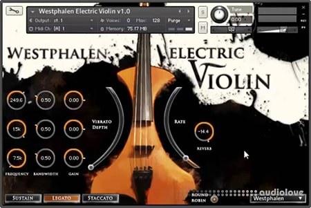 Strezov Sampling Westphalen Baritone Violin KONTAKT