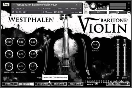 Strezov Sampling Westphalen Electric Violin KONTAKT