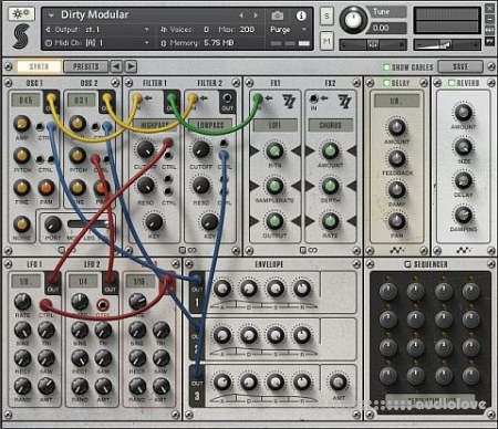Samplephonics Dirty Modular KONTAKT