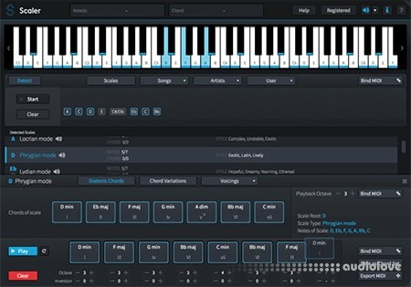 Plugin Boutique Scaler v1.2.0 WiN MacOSX