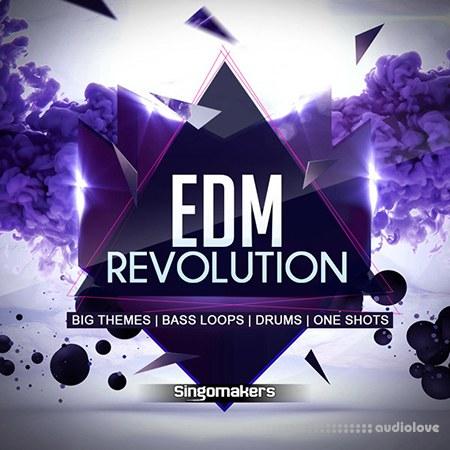 Singomakers EDM Revolution WAV MiDi REX