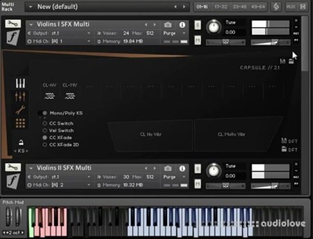 Orchestral Tools Berlin Strings EXP E SFX String Effects v1.1 KONTAKT