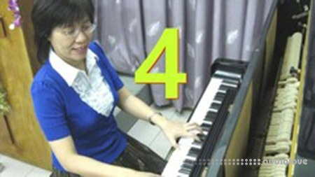 Udemy #4 Play Piano Trick Rosa's EZ Locked Hands play Rich Chords TUTORiAL