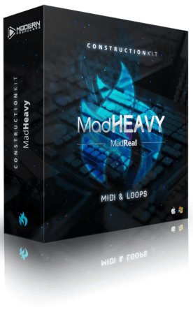 MadReal MadHeavy Construction Kit WAV MiDi