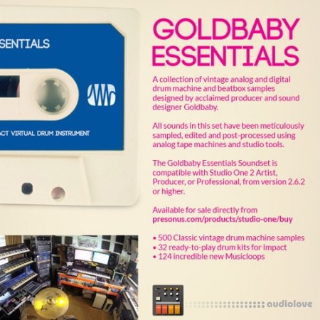 PreSonus Goldbaby Essential Collection Soundset DAW Addons