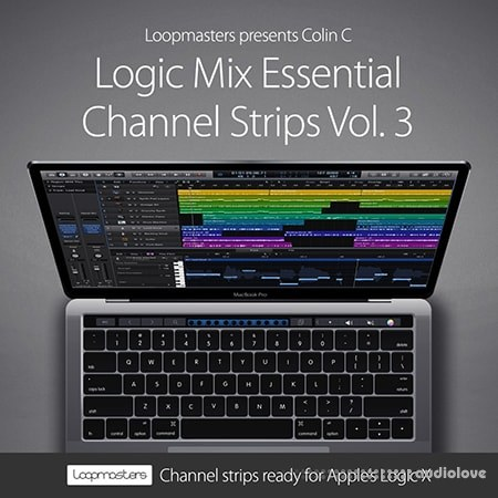 Loopmasters Logic Mix Essential Channel Strips Vol.3 DAW Presets Logic