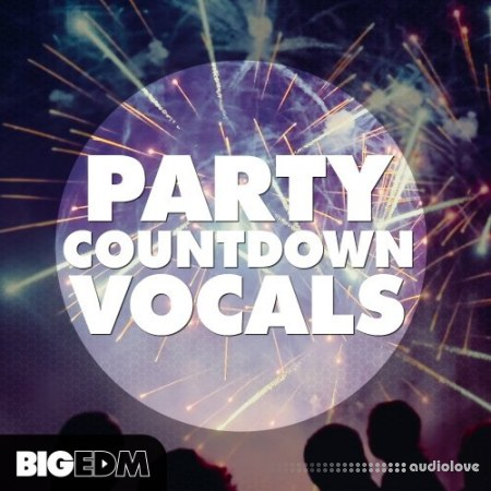 Big EDM Party Countdown Vocals WAV