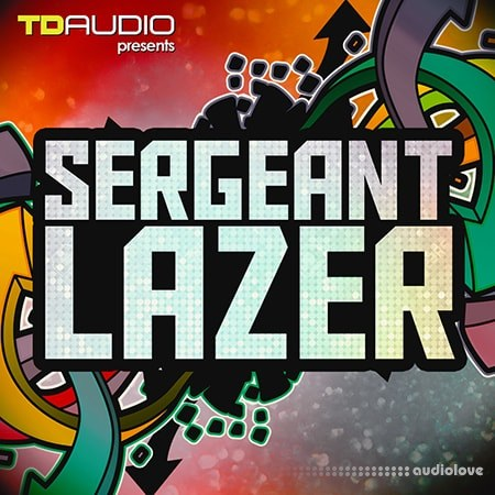 Industrial Strength TD Audio Sergeant Lazer WAV MiDi Synth Presets DAW Templates