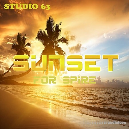 Studio 63 SUNSET WAV MiDi Synth Presets