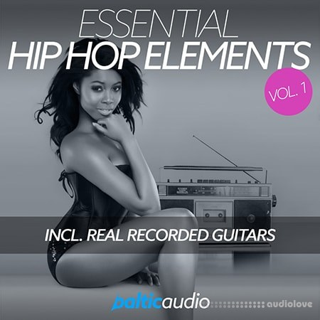 Baltic Audio Essential Hip Hop Elements Vol.1 WAV MiDi