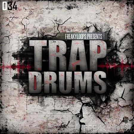 Freaky Loops Trap Drums WAV