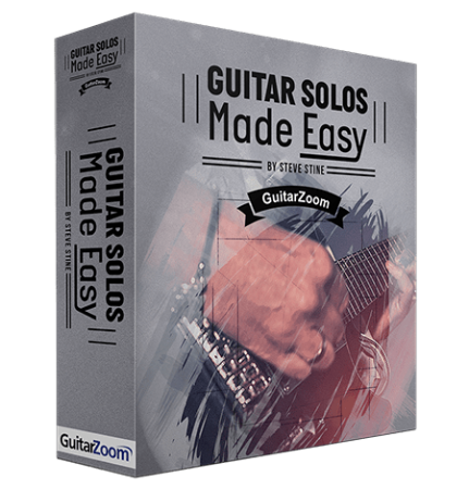 GuitarZoom Steve Stines Guitar Solo Made Easy TUTORiAL
