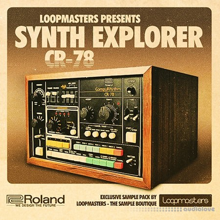 Loopmasters Synth Explorer CR-78 MULTiFORMAT