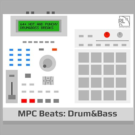 Rhythm Lab MPC Beats Drum and Bass WAV REX