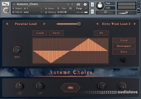 Sound Aesthetics Sampling Autumn Choirs KONTAKT