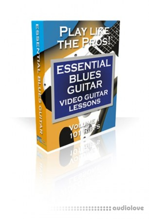 PG Music Video Guitar Lessons Essential Blues Guitar Volumes 1 and 2 TUTORiAL MacOSX
