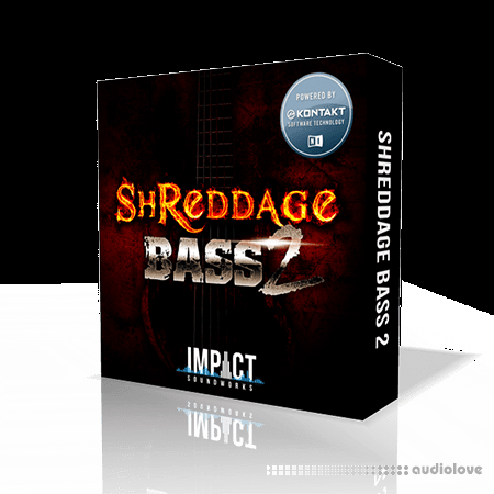 Impact Soundworks Shreddage Bass 2 KONTAKT