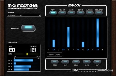 Midi Madness Software Midi Madness v2.1.4 WiN