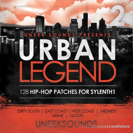Uneek Sounds Urban Legend For Sylenth1 Vol.2 WAV MiDi Synth Presets