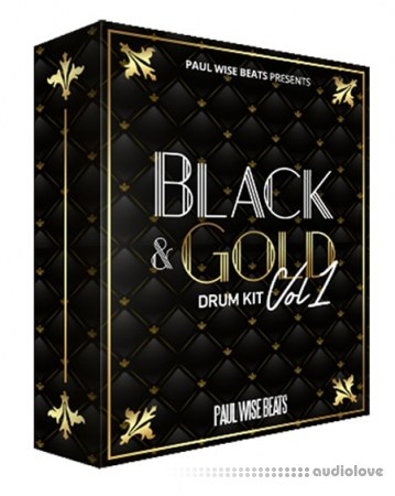 Paul Wise Beats Black and Gold Drum Kit Vol.1 WAV