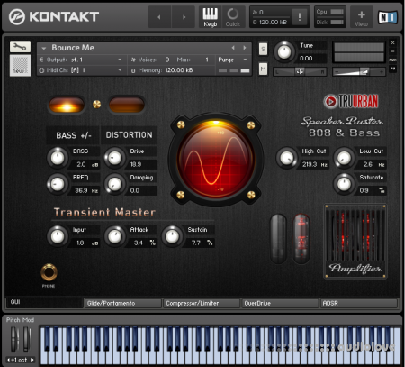 Tru-Urban Speaker Buster 808 and Analog Synth Bass KONTAKT