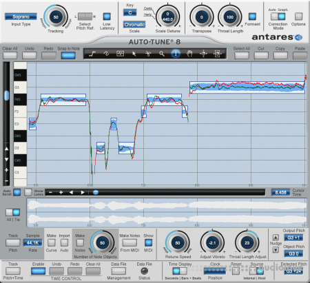 Antares Auto-Tune v8.1.1 / v7.6.8 Adobe-patched WiN MacOSX