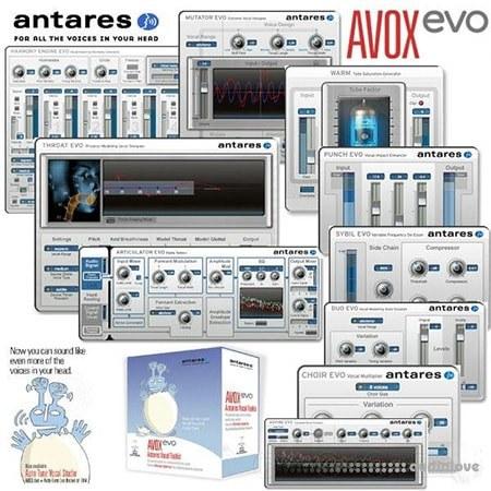 Antares AVOX Evo v3.0.2 WiN MacOSX