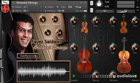 Findasound Fayez Saidawi Oriental Strings KONTAKT