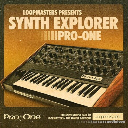 Loopmasters Synth Explorer Pro One MULTiFORMAT