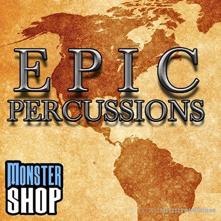 Monster Shop Epic Percussions WAV AiFF