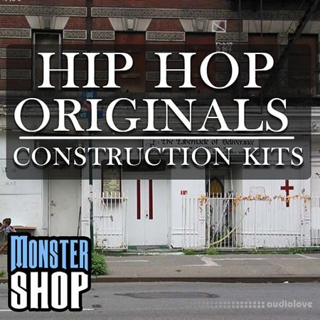 Monster Shop Hip Hop Originals Construction Kits WAV