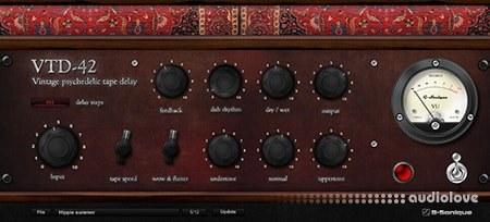 G-sonique Vintage Psychedelic Delay VTD-42 X86 WiN
