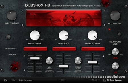 G-Sonique DUBSHOX Multi-Band Distortion X86 WiN