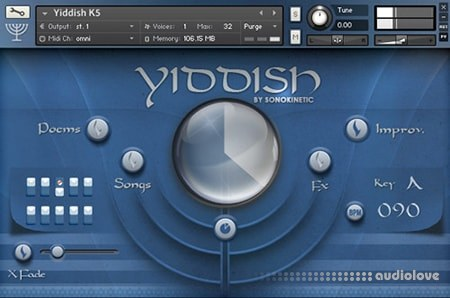 Sonokinetic Yiddish KONTAKT