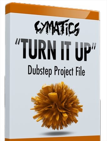 Cymatics Turn It Up Dubstep DAW Templates