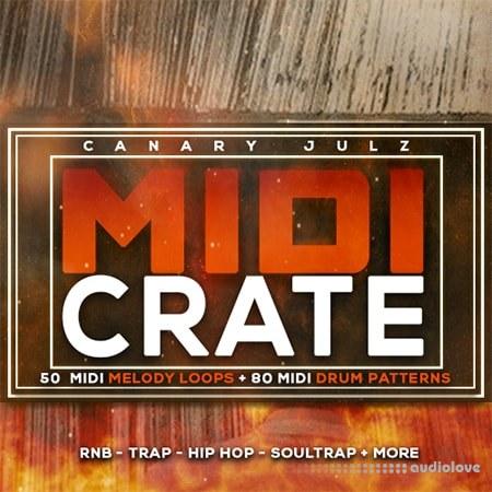Kitsohard Canary Julz MIDI Crate MiDi