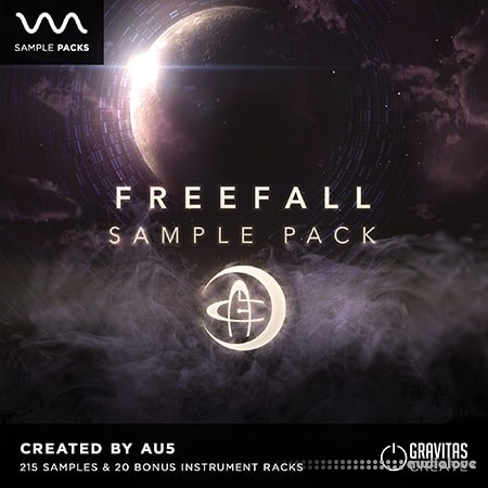 Gravitas Create FREEFALL Sample Pack by Au5 WAV Synth Presets DAW Presets Reaktor