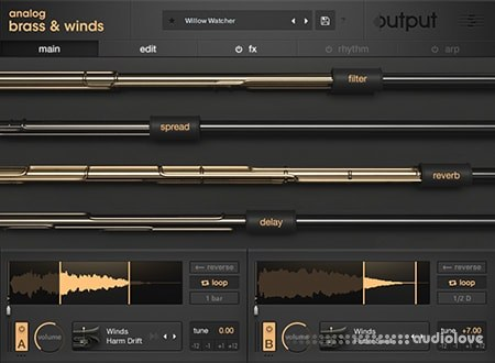 Output Analog Brass and Winds KONTAKT