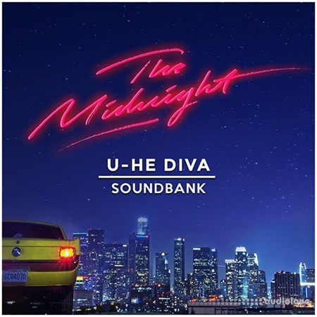 The Midnight U-He Diva Soundbank Synth Presets