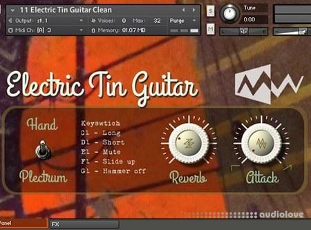 ModWheel Biscuit Tin Guitar KONTAKT